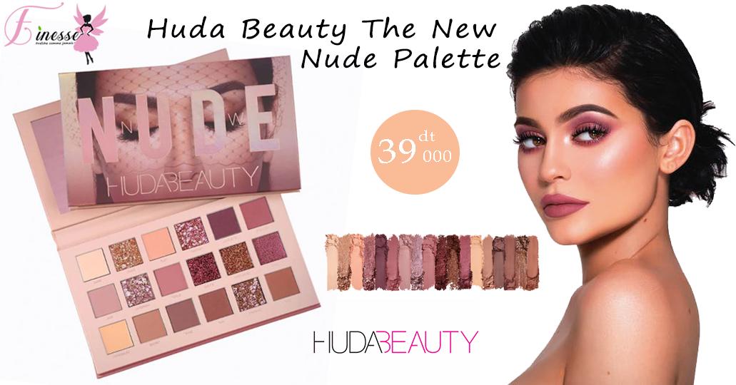 Se maquiller avec la palette « New Nude » de Huda Beauty